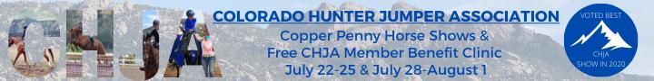CHJA Copper Penny Hunter Jumper Horse Shows Estes Park Colorado