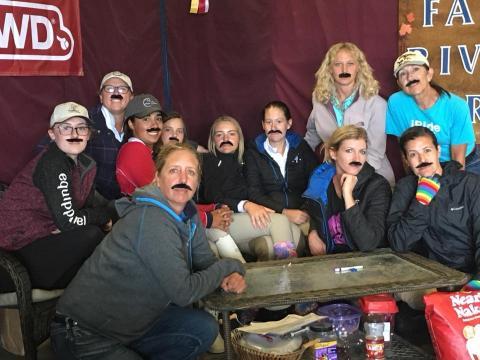 Everyone has a mustache