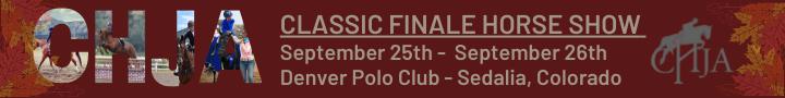 CHJA Classic Finale Horse Show